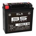 Batterie BS Battery SLA 12N5.5-4A ferme Type Acide Sans entretien/prête à l'emploi