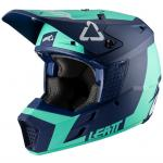 Casque cross Leatt GPX 3.5 - AQUA V20.1 2020