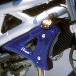 Ecopes de radiateur Brut Ermax SV650N  1999 2002