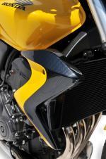 Ecopes de radiateur bicolore Ermax CB600 Hornet  2011 2014