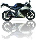 Ligne complete non homologuee IXIL XOVE YZF R125  2008 2013