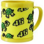 Mug Plastic Classic Yellow VR46