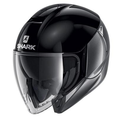 Casque CITYCRUISER DUAL BLANK SHARK
