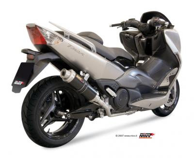 Ligne complete homologuee MIVV GP carbone T MAX 500  2008 2011