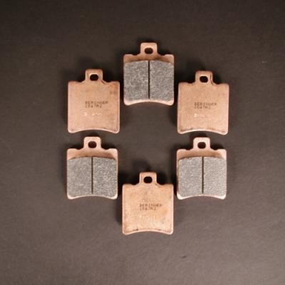 Plaquettes Beringer 2547 R2 pour etrier 6 pistons a 6 plaquettes