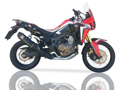 Silencieux homologue IXIL XOVE CRF1000L Africa Twin  16 17