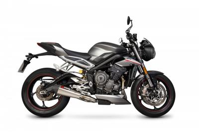 Silencieux homologue Scorpion Serket inox Street Triple 765 R   RS   S